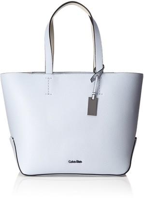 Calvin Klein Edit Medium Shopper Womens Tote Violett (Black) 16x28x28 cm (B x H T)