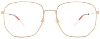 Gucci Hexagonal Framed Glasses