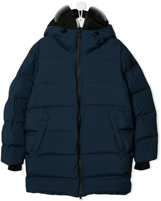AI Riders On The Storm Zipped Padded Coat