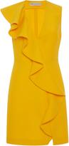 Emilio Pucci Ruffled V-Neck Dress