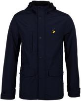 Lyle & Scott Navy Micro Fleece Lined Jacket