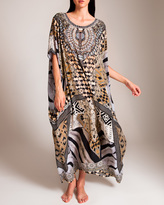 Camilla Weave of the Wild Round Neck Kaftan