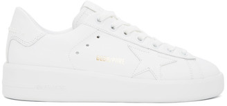 Golden Goose White Pure Star Sneakers