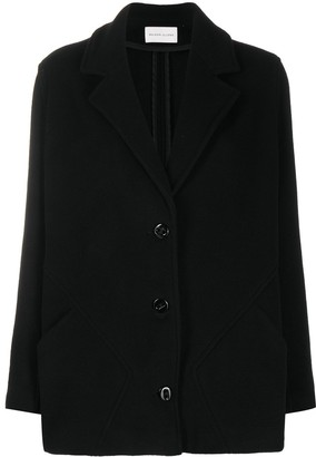 Maison Ullens Single Breasted Patch-Pocket Jacket