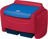 Little Tikes Sort 'n Store Primary Colors Toy Chest- Red