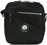 Versus logo stud messenger bag - men - Calf Leather/Nylon - One Size