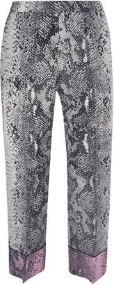 N°21 N.21 Snake-skin Effect Trousers