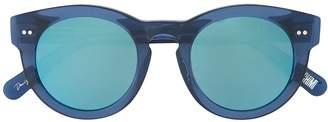 Chimi round mirrored sunglasses