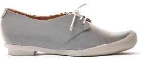 Tracey Neuls - Geek Silver Reflective Flat Shoe - 36 - Grey