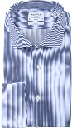 T.M.Lewin Striped Slim Fit Dress Shirt
