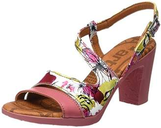 Art Women's 0293 Fantasy Rio Sandals with Ankle Strap, Multicolour (Flowers), 4 UK