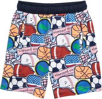 Vineyard Vines Kids' Mesh Lacrosse Shorts