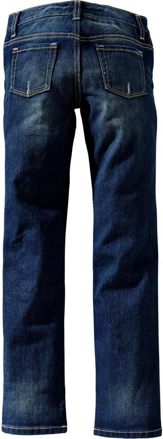 Old Navy Girls Patch-Front Skinny Jeans