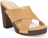 Thalia Sodi Ivanna Crisscross Platform Sandals, Only at Macy's