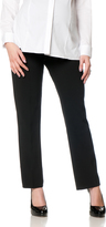 Motherhood Petite Secret Fit Belly Bi-stretch Suiting Straight Leg Maternity Pants