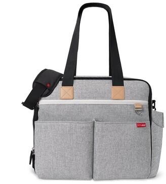 Skip Hop Duo Weekender Diaper Bag Grey Melange