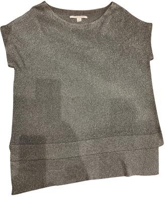 Diane von Furstenberg Metallic Polyester Tops