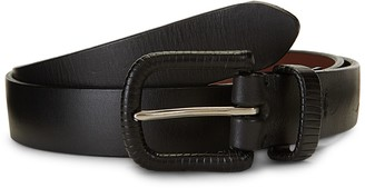 Saks Fifth Avenue Leather Wrapped Buckle Belt