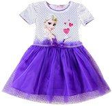 Eyekepper Short Sleeve Polka Dots Cartoon Princess Dress Tutu Dresses