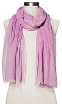 Women's Amazing Basic Oblong Scarf - Merona