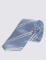 Limited Edition Striped Tie & Pocket Square Set
