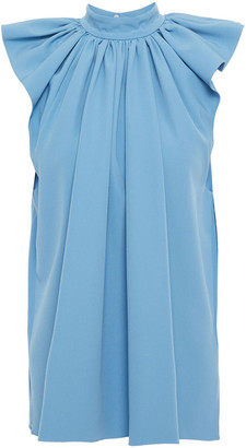 Victoria Victoria Beckham Gathered Crepe Top