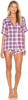 Plush Ultra Soft Plaid PJ Set