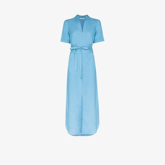 USISI SISTER Tosca belted maxi dress