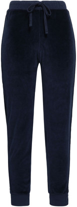 Amo Cotton-blend Chenille Track Pants