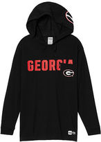 PINK University Of Georgia Campus Hoodie Tee