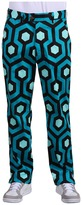 Loudmouth Golf - Aqualung Pants (Blue/Black) - Apparel