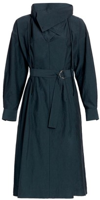 3.1 Phillip Lim Textured Faille Shirtdress