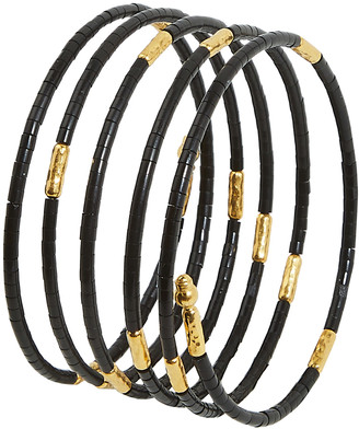 Gurhan Jet Wrap Bracelet