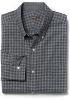 J.Mclaughlin Carnegie Classic Fit Flannel Shirt in Tattersall Check