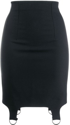Chalayan Buckle Detail Skirt