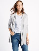 Marks and Spencer Trapeze Slinky Cuff Cardigan