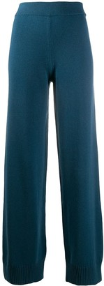 Canessa Rose straight leg trousers