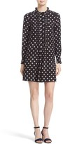 Kate Spade Women's Ditzy Floral Print Silk Swing Dress