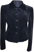 Marc Cain Black Velvet Jacket for Women