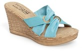 Women's Tuscany By Easy Street Solaro Platform Wedge Sandal
