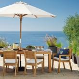 Williams-Sonoma Larnaca Outdoor Teak Extendable Dining Table