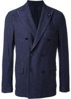 Lardini pinstriped blazer