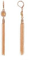 Vince Camuto CZ Tassel Drop Earrings