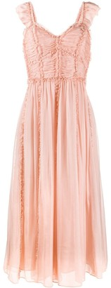 Ulla Johnson Florance ruffled silk dress