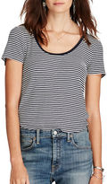 Denim & Supply Ralph Lauren Striped Scoop Neck Tee