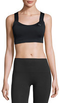 Brooks UpLift Crossback Sports Bra (C/D), Black