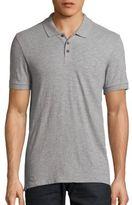 Vince Slub Cotton Polo Shirt