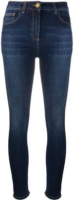 Elisabetta Franchi High-Rise Skinny Jeans