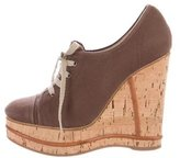 Chloé Platform Wedge Booties