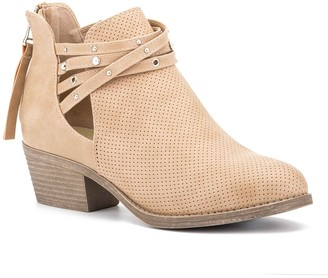 OLIVIA MILLER You're My Everything Ankle Bootie